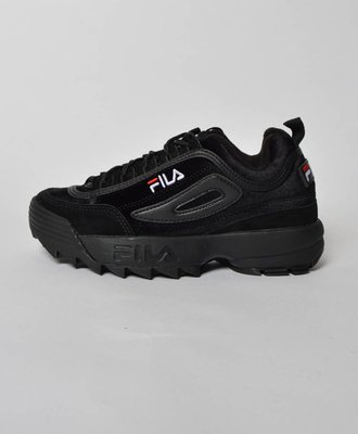 Fila Disruptor Low Black Velvet