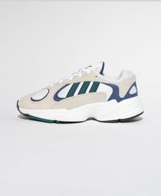 Adidas Adidas Yung-1 White Green Dark Blue