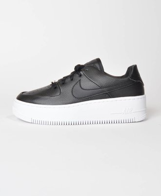 Nike Nike W Air Force 1 Sage Low Black White