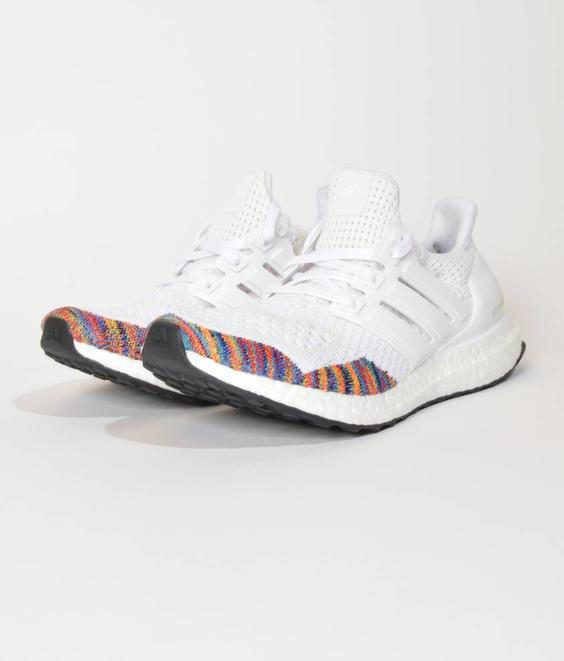 Adidas Adidas Ultraboost Multi Color White