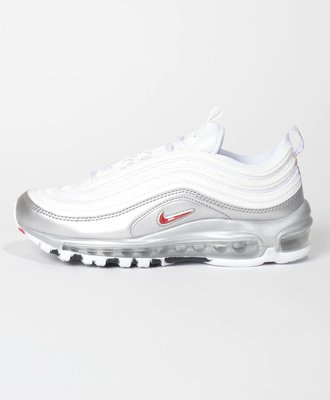 Nike Nike Air Max 97 QS White  Varsity Red Metallic Silver