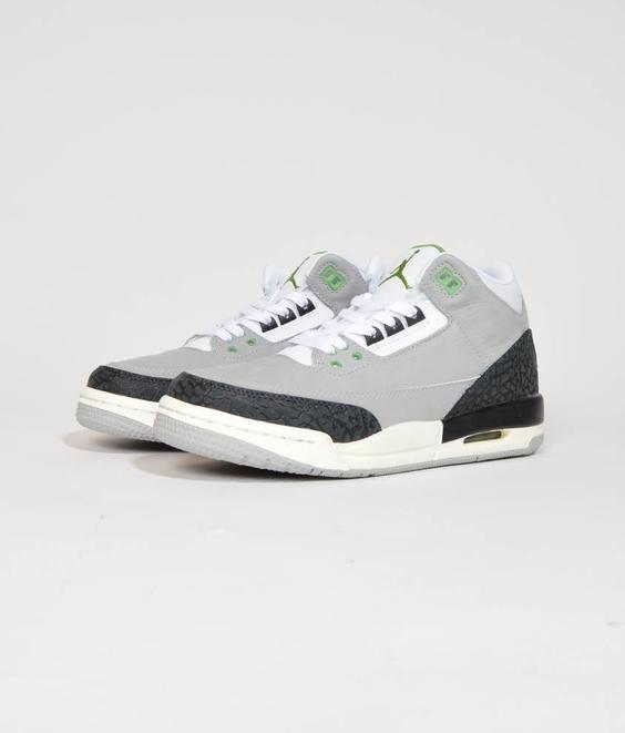 Nike Nike Air Jordan 3 GS Chlorophyl Grey