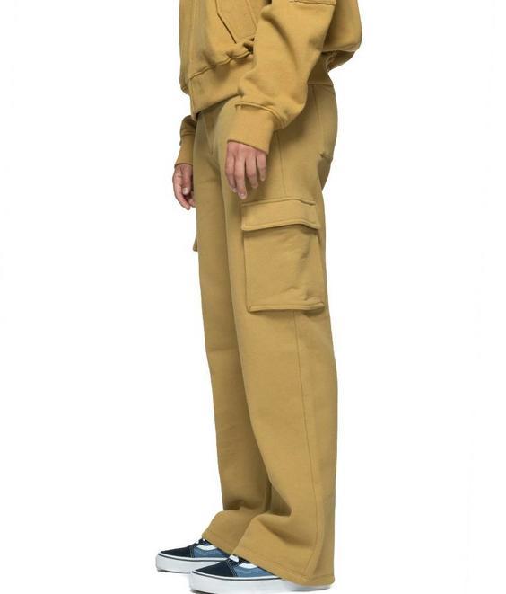 Stussy Stussy Bix Fleece Cargo Pant Mustard