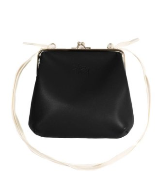 Stussy Stussy Vita Kisslock Purse Black