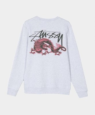 Stussy Stussy Dynasty Crew Ash Heather