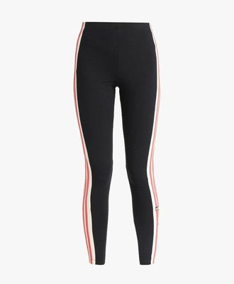 Adidas Adidas Tights Black Pinks Stripe