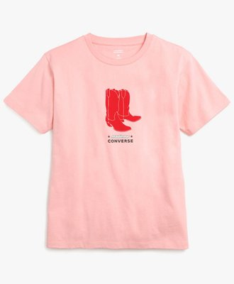 Converse Converse x MadeMe Baby Tee Pink Icing