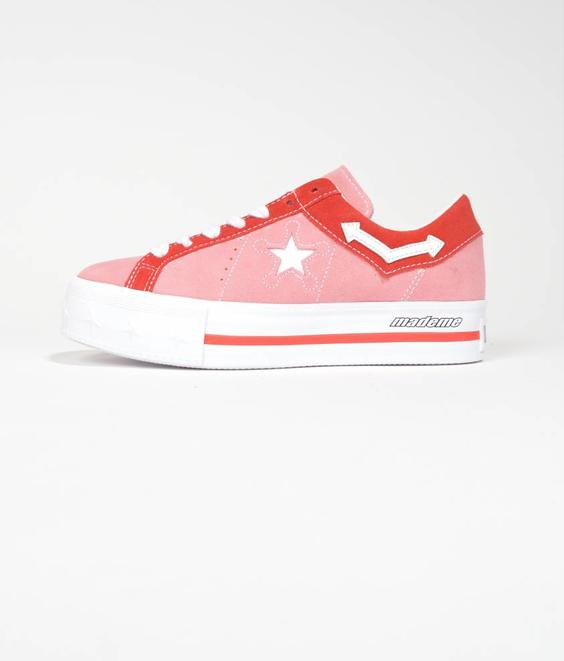 Converse Converse One Star Platform x MadeMe Pink