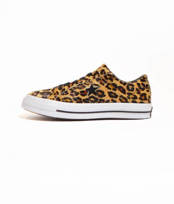 Converse Converse One Star Leopard Black