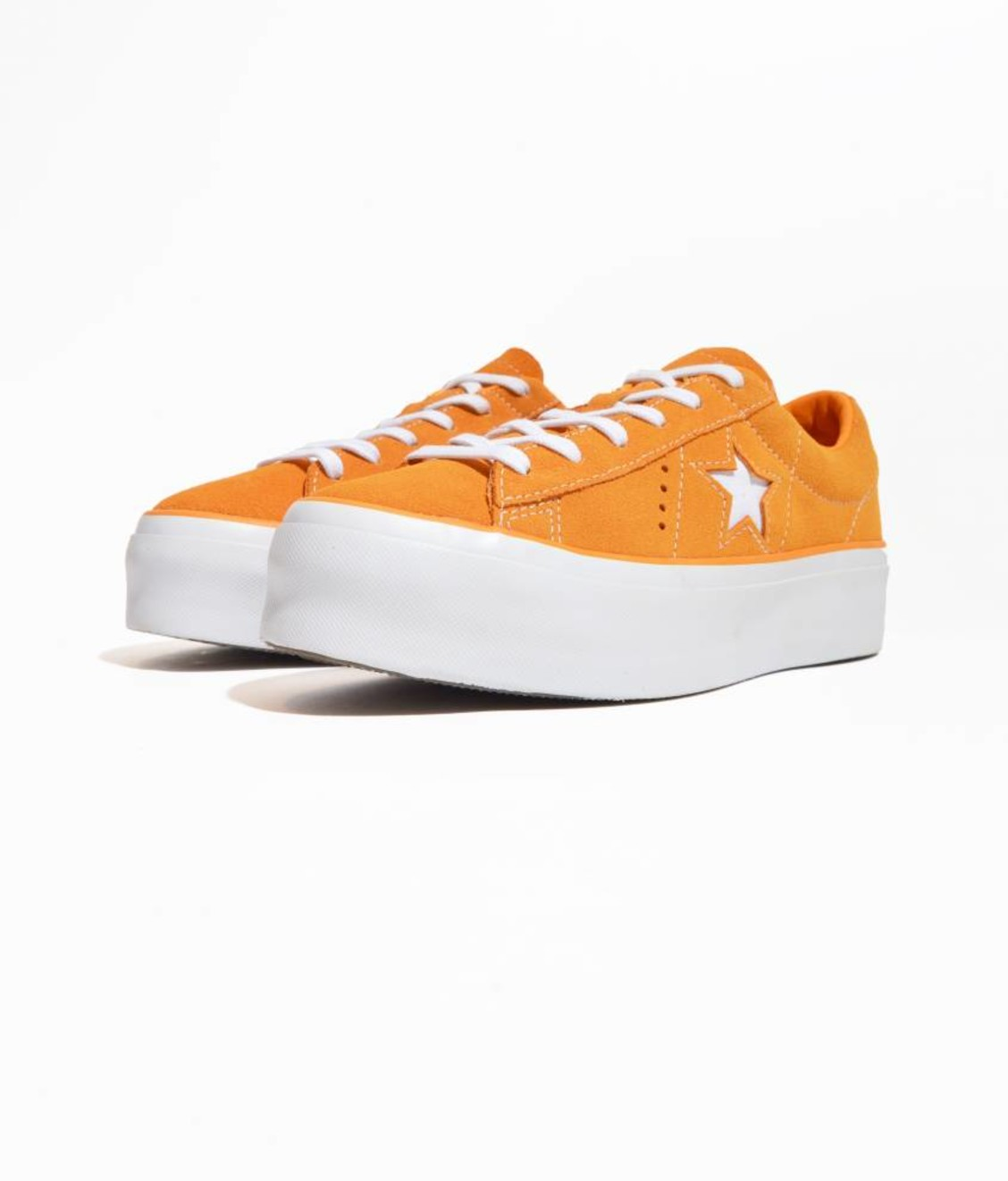 Converse Converse One Star Platform OX Field Orange