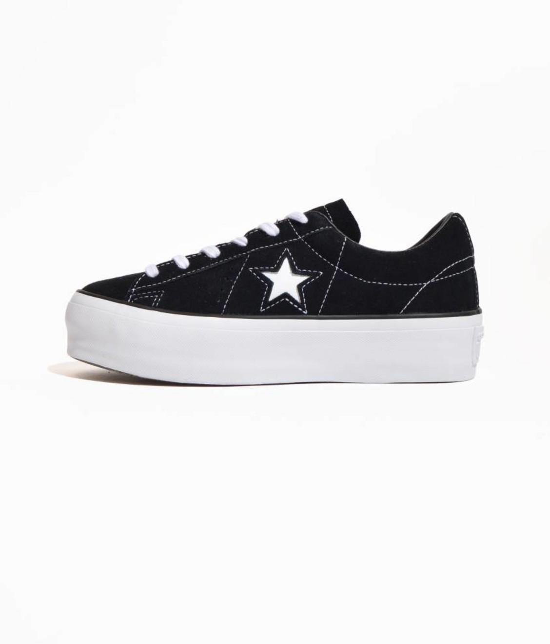 Converse Converse One Star Platform OX Black