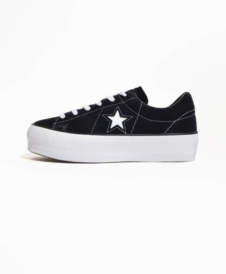 Converse Converse One Star Platform OX Black