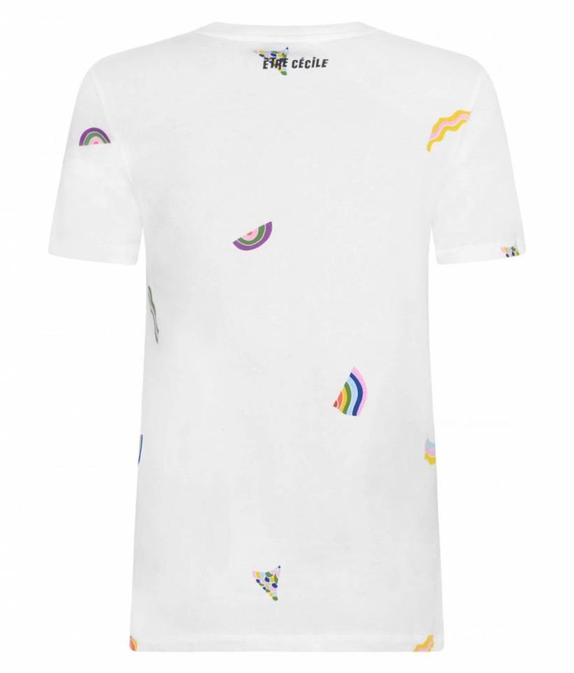 Etre Cecile Etre Cecile Wavy All Over Tee White