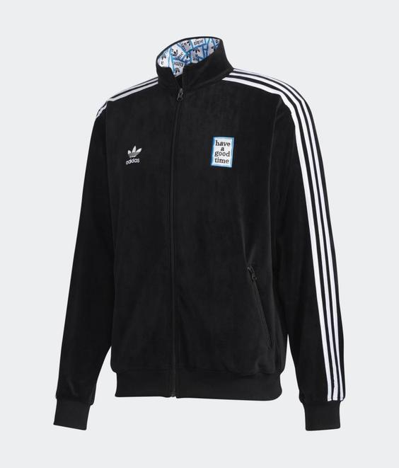Adidas Adidas X Have A Good Time Track Top Black