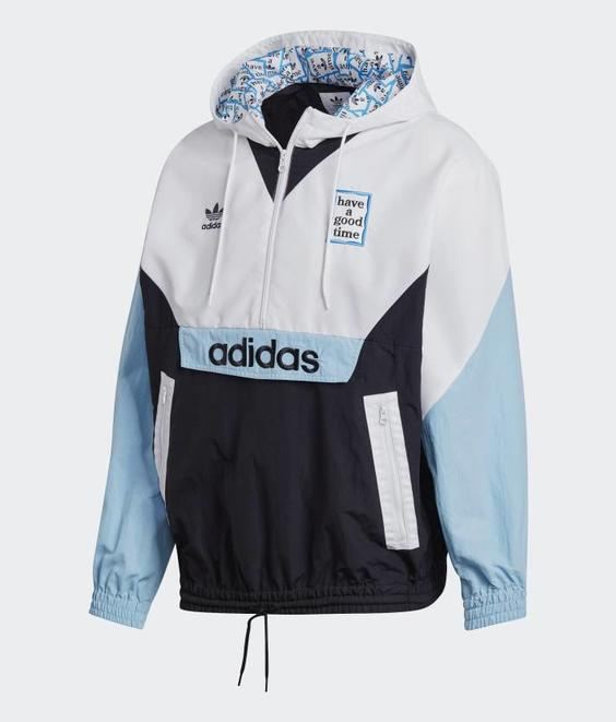 Adidas Adidas X Have A Good Time Pullover Blue