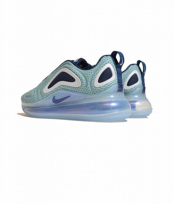 Nike Nike Air Max 720 W Metallic Silver Midnight Navy