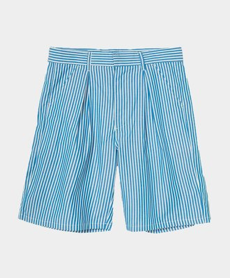 Stussy Stussy Doris Stripe Baggy Short Blue