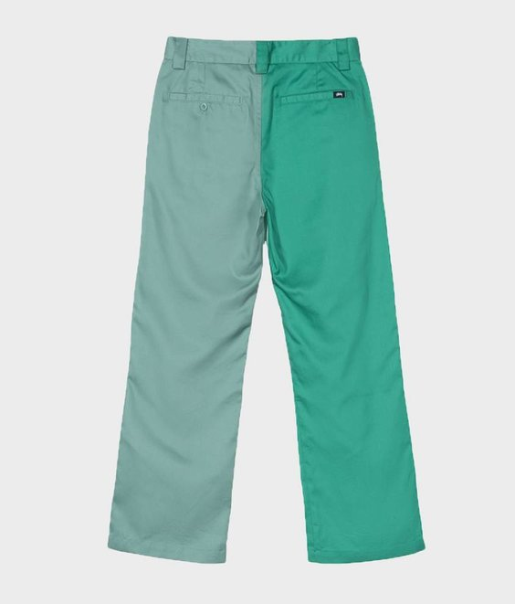 Stussy Stussy Louise Twotone Pant Green