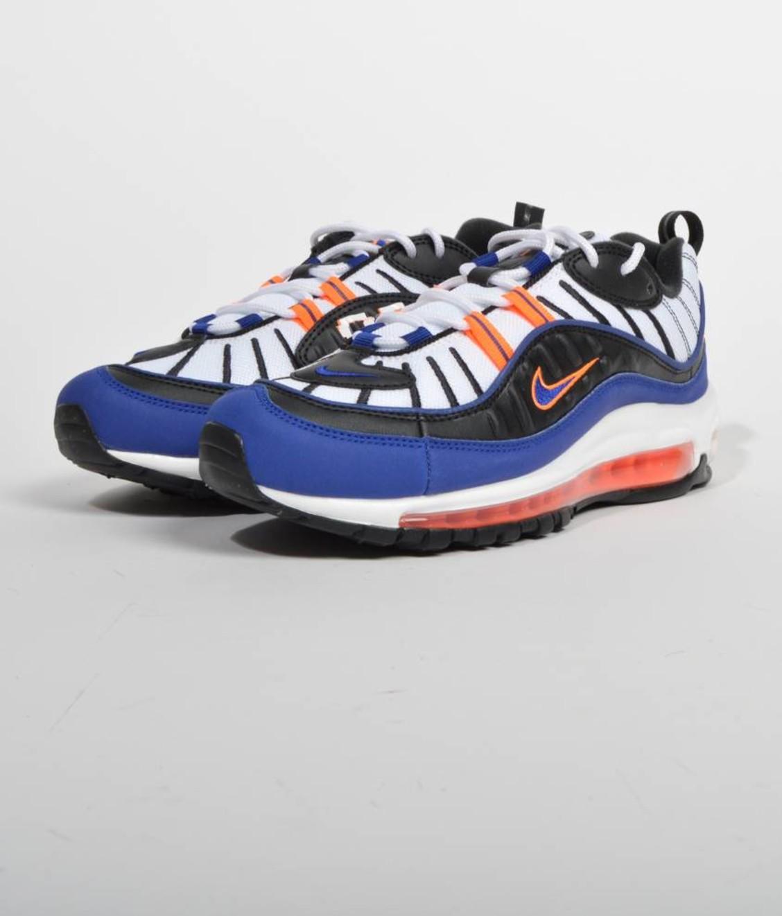 Nike Nike Air Max 98 White Deep Royal Blue