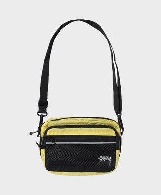 Stussy Stussy Diamond Ripstop Shoulder Bag Lime