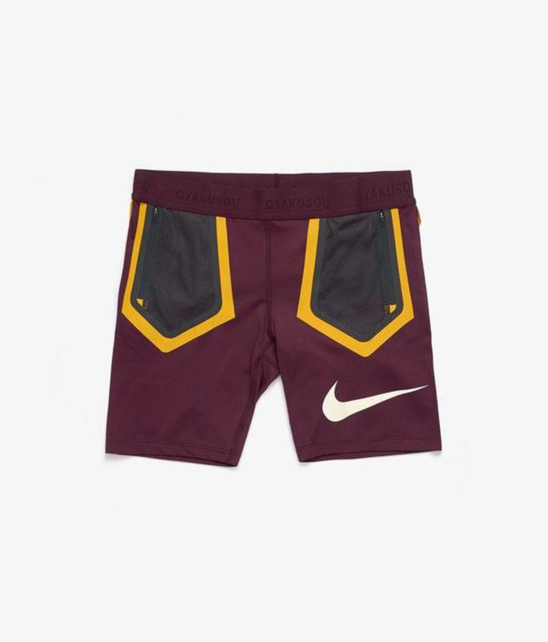 Nike NIke W Gyakusou Techknit Shorts Deep Burgundy