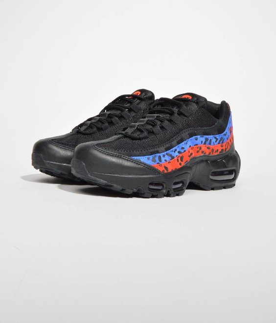 Nike Nike Air Max 95 PRM Black Habanero Red Leopard