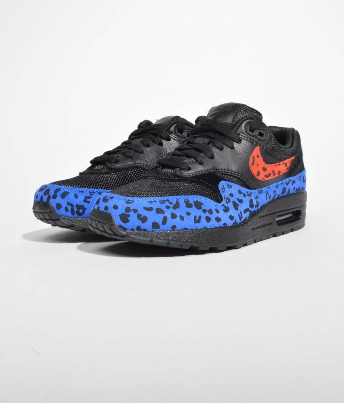 Nike Nike Air Max 1 Premium Black Habanero Red Leopard