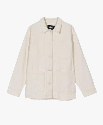 Stussy Stussy Aurora Washed Chore Jacket Natural