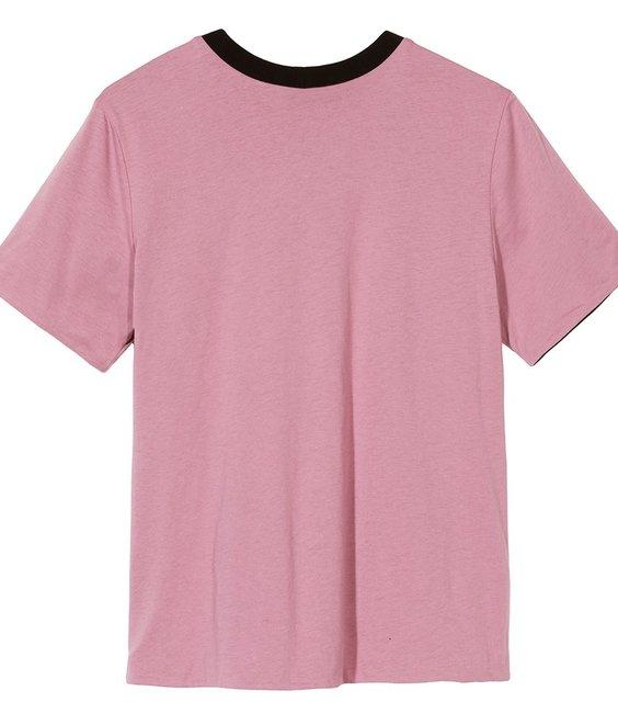 Stussy Stussy Sideline Reverse Tee Pink