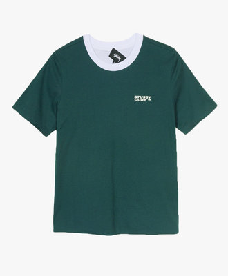 Stussy Stussy Sideline Reverse Tee Forest