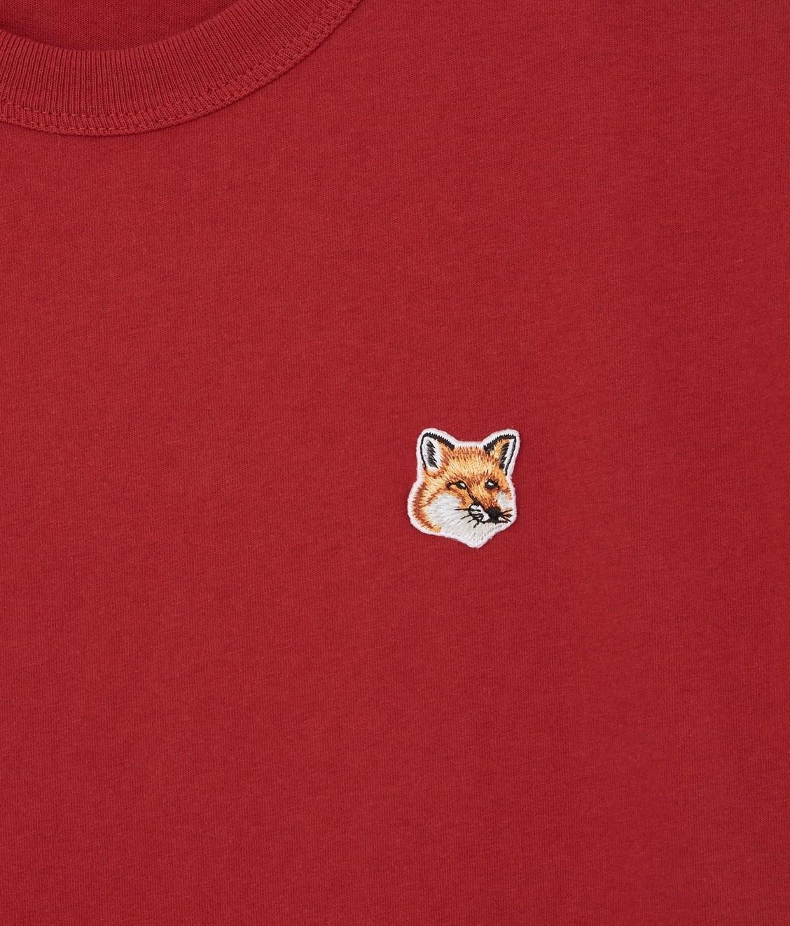 Maison Kitsune Maison Kitsune Tee Fox Head Patch Red