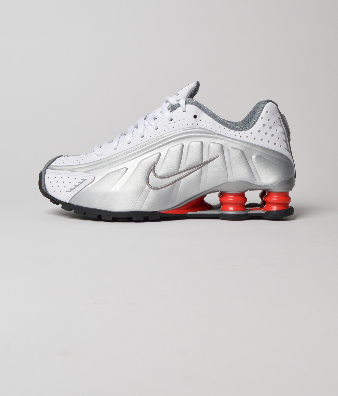 thoughts on vast selection get online Nike Shox R4 White Metallic Silver - Maha Amsterdam