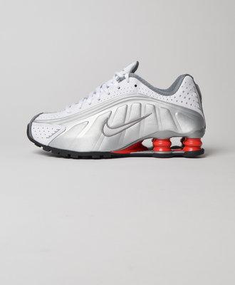 Nike Nike Shox R4 White Metallic Silver
