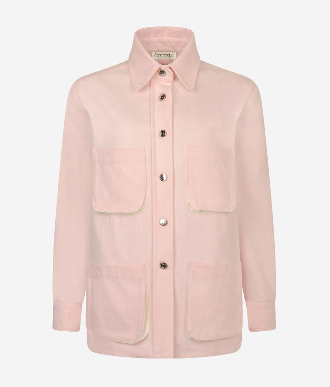 Etre Cecile Etre Cecile St Germain Denim Jacket Pink