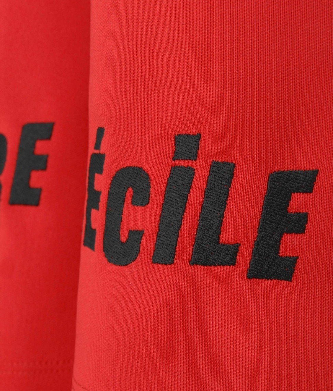 Etre Cecile Etre Cecile Chevron Track Pant Red