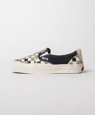 Vans Vans Vault OG Slip-On Embroidered Checkerboard Grey