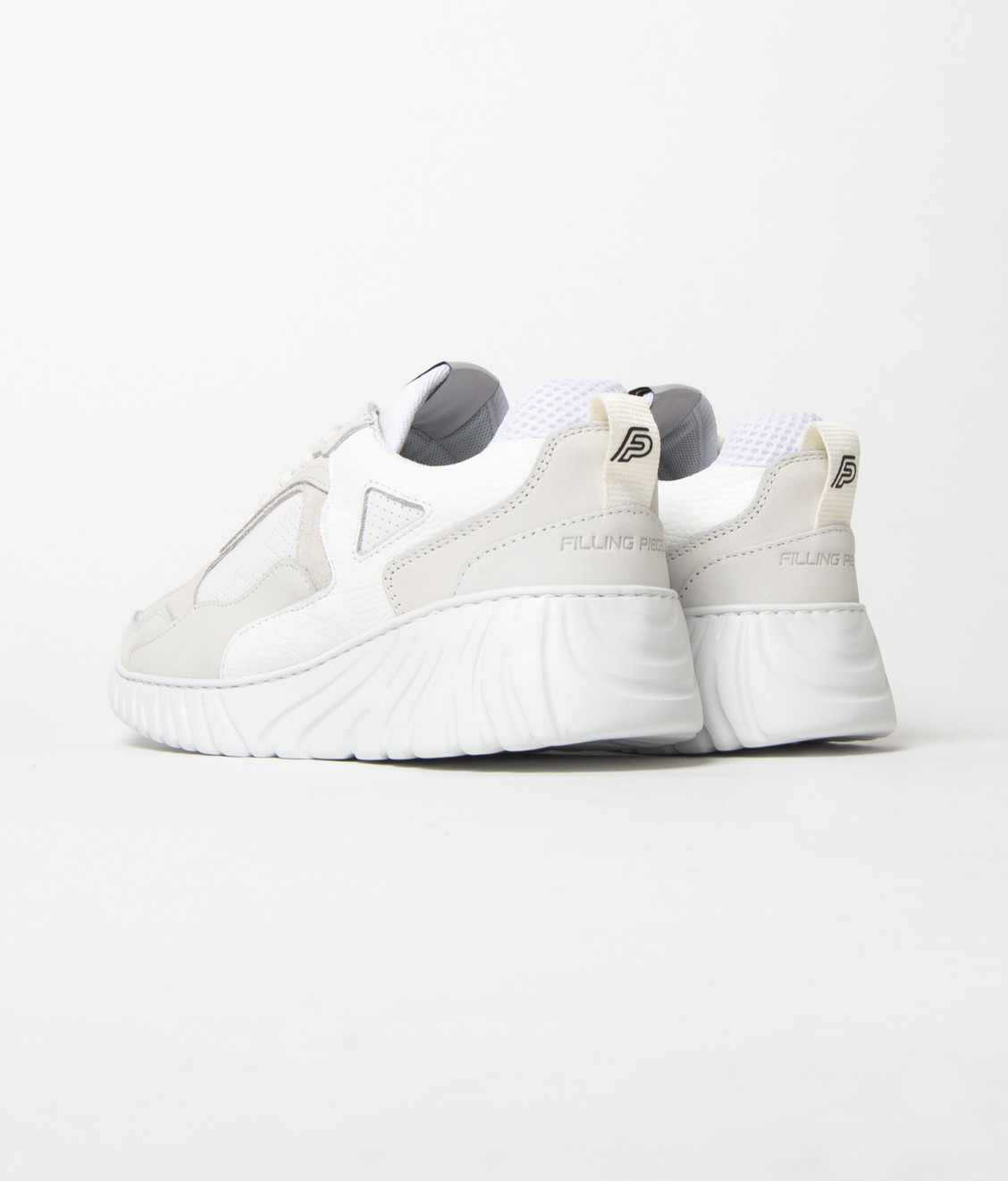 Filling Pieces Filling Pieces Low Curve Roots Loop White