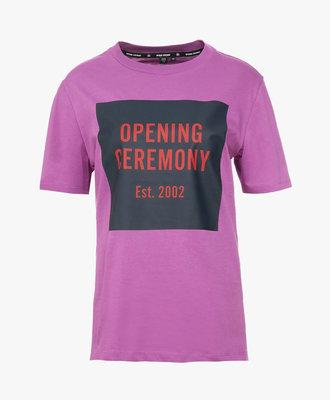 Opening Ceremony Opening Ceremony Box Logo Tee Hyacinth