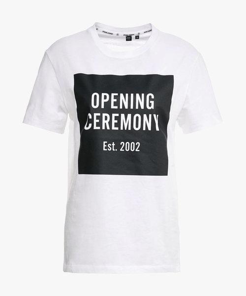 Opening Ceremony Logo Tee White