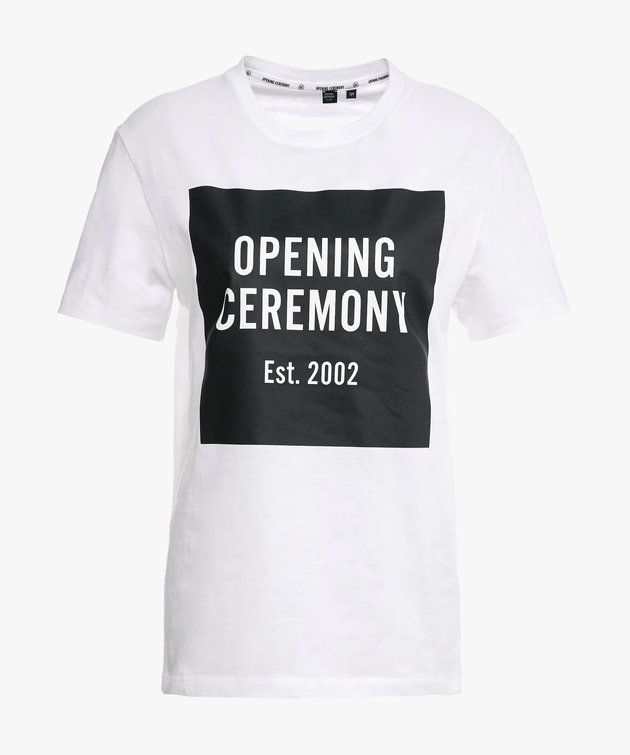 Opening Ceremony Opening Ceremony Logo Tee Wit