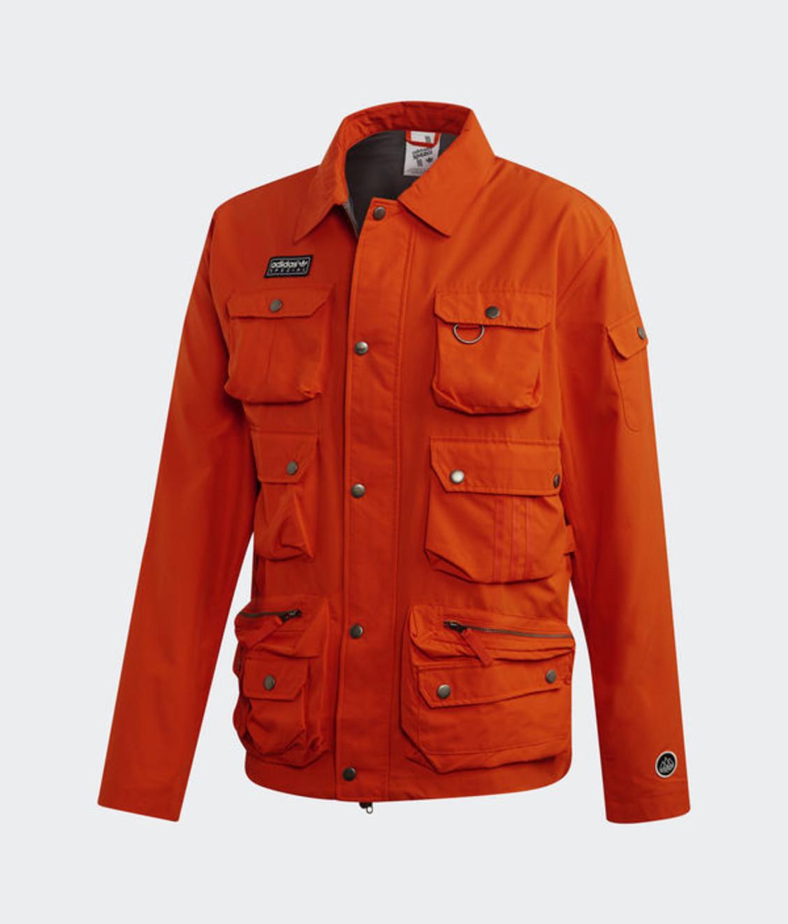Adidas Adidas SPZL Wardour Military Jacket Orange