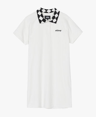 Stussy Stussy Memphis Collar Dress Off White