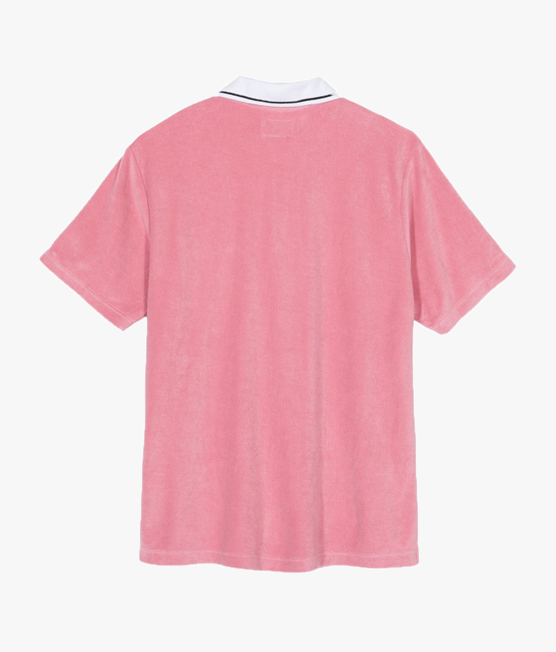Stussy Stussy Terry Lion Zip Polo Pink