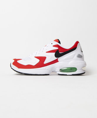 Nike Nike Air Max 2 Light White Habanero Red