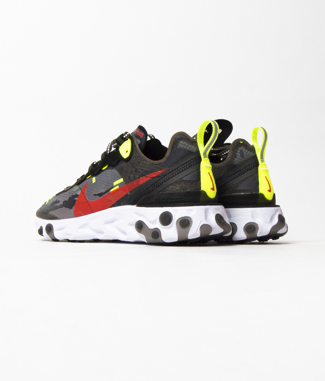 Nike Nike React Element 87 Medium Olive Camo