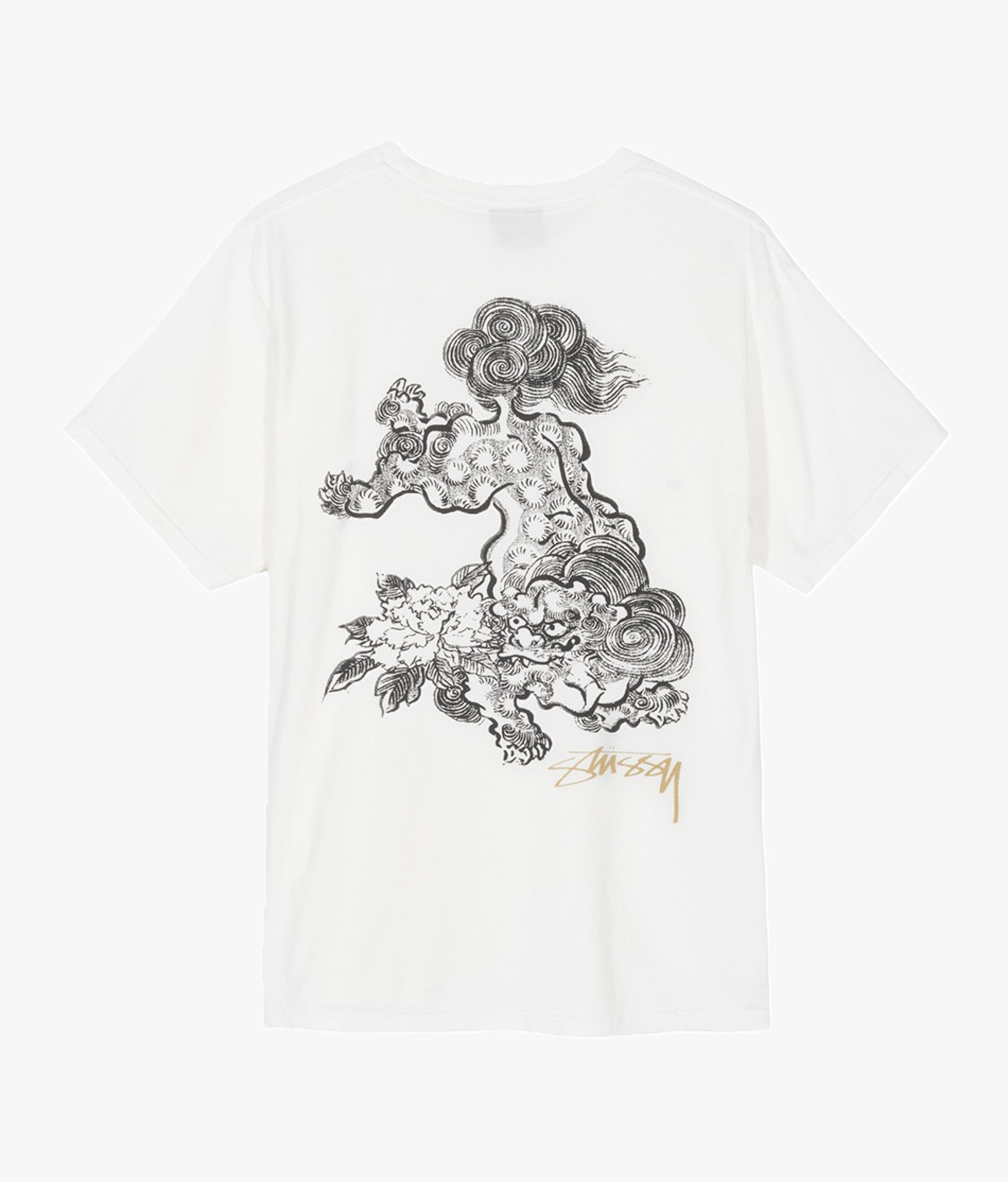 Stussy Stussy Fu Dog Tee Natural