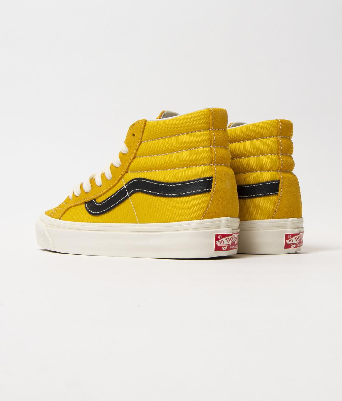 Vans Vans Vault OG SK8-Hi LX Yellow