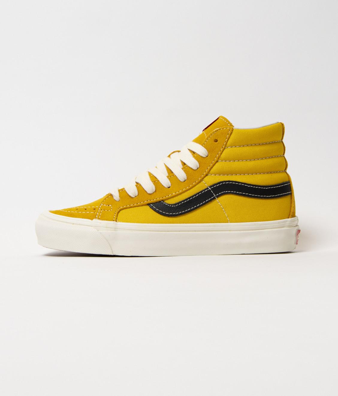 Vans Vans Vault OG SK8-Hi LX Yellow top 10