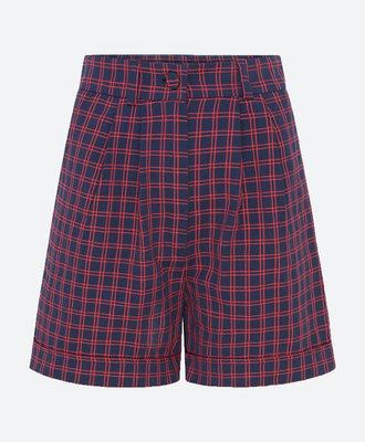 Etre Cecile Etre Cecile Check Lula Shorts