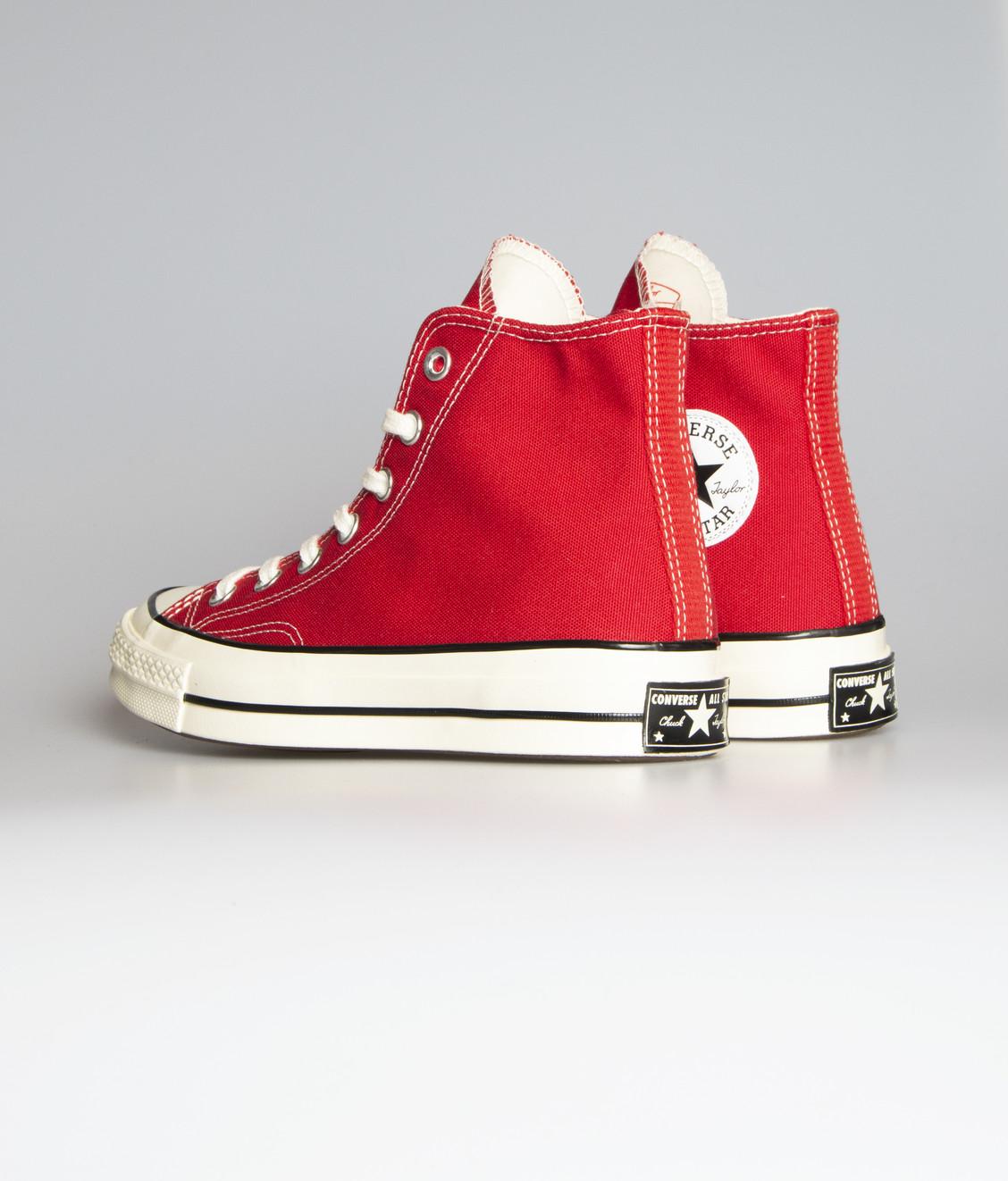 Converse Chuck 70 Hi Enamel Red
